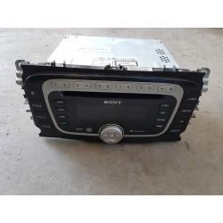 RADIO SONY 6 CD MP3 Z KODEM...